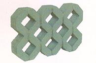 多孔植草砖